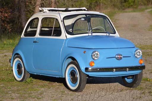 "Fiat 500 Nuova Serie F ""Luigi"""